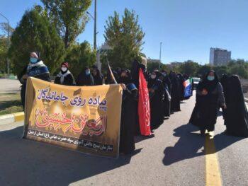مراسم جاماندگان اربعین حسینی در اردبیل برگزار شد