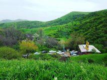 روستای رمضانلو نگین طبیعت دشت مغان/ گرمی