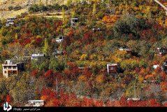 تصاویر/طبیعت پاییزی روستای سیلوار همدان
