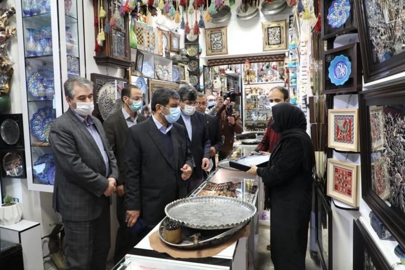 ساماندهی بازارچه صنایع دستی اقدامی ارزنده در اردبیل است+ عکس