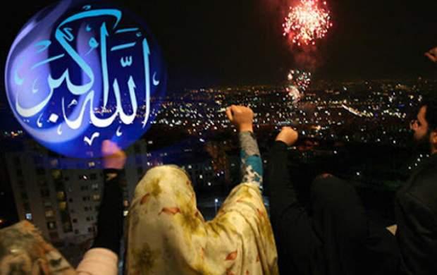 ندای «الله اکبر» در سراسر استان اردبیل طنین انداز شد